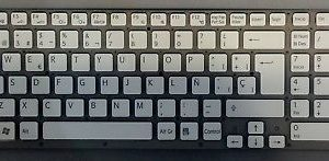 Teclado para PORTATIL Sony MP-09L26E0-8863 148794061 Blanco