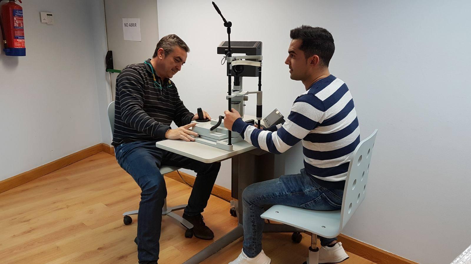 Traslado de equipo oftalmológico de Madrid