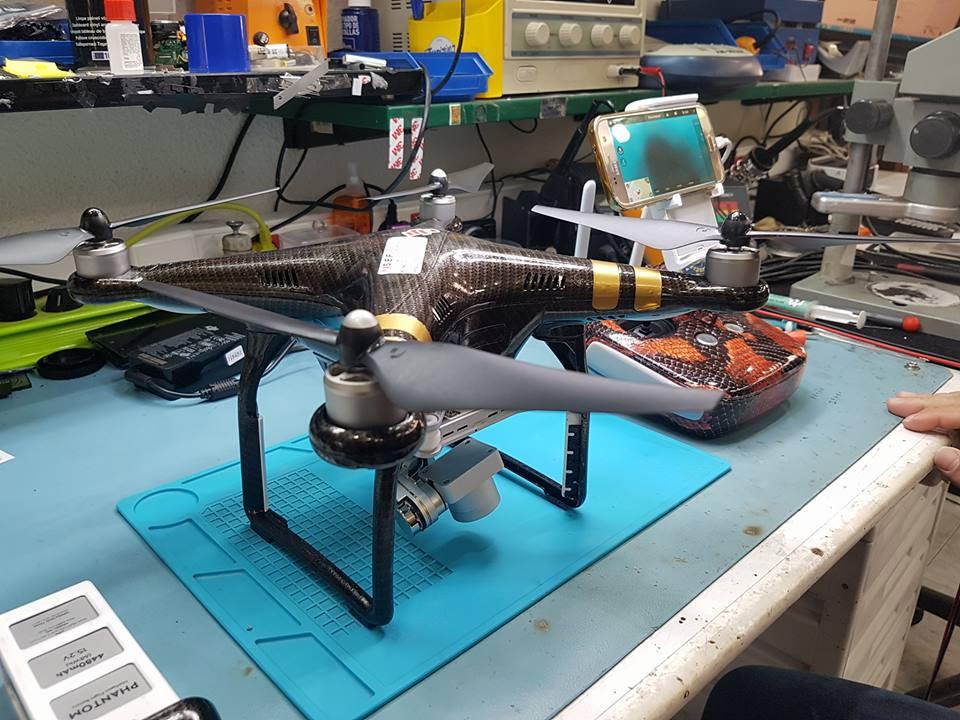 Reparación de dron phanton