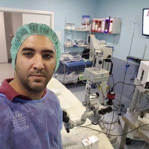 Reparacion de sistema de opticas y microscopio en quirofano Oftalmológico