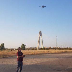 Prueba de vuelo de Dron DJI Mavic Pro II